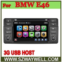 For BMW 3 Series E46 Car DVD GPS Navigation Bluetooth Radio IPOD Touch Screen Video Audio Player Free shipping