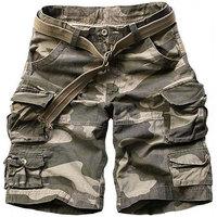 HQ Sals!!! 2014 New fashion Summer Men's casual cargo combat short Mens leisure cotton shorts 11 Color Camouflage S - XXXL