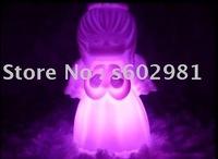 Free Shipping! 20PCS per lot Changing Color  LED lights!Angel led lights