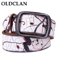OLDCLAN Free Shipping wholesale- genuine Leather waist Belt for men + 2011 fashion leather Belts hot sale gift box FGB04055