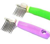 9pcs/lot,Pet Grooming Tool, Dematting Comb
