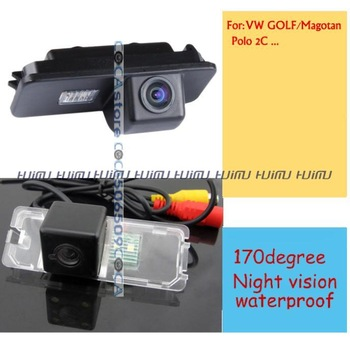 wireless Rear view camera Reverse Camera for VW EOS LUPO BEETLE  PASSAT CC/ MK4 MK5 MK6 VW BORA/POLO(2C) SCIROCCO/SKODA SUPERB