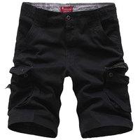 New 2014 summer the army pants Cargo shorts Men's shorts Fashion shorts Loose shorts tooling slacks Free shipping Big size 30-44