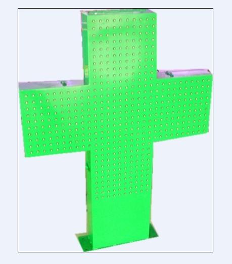Outdoor Green LED Corss Sign LED Pharmacy(China (Mainland))