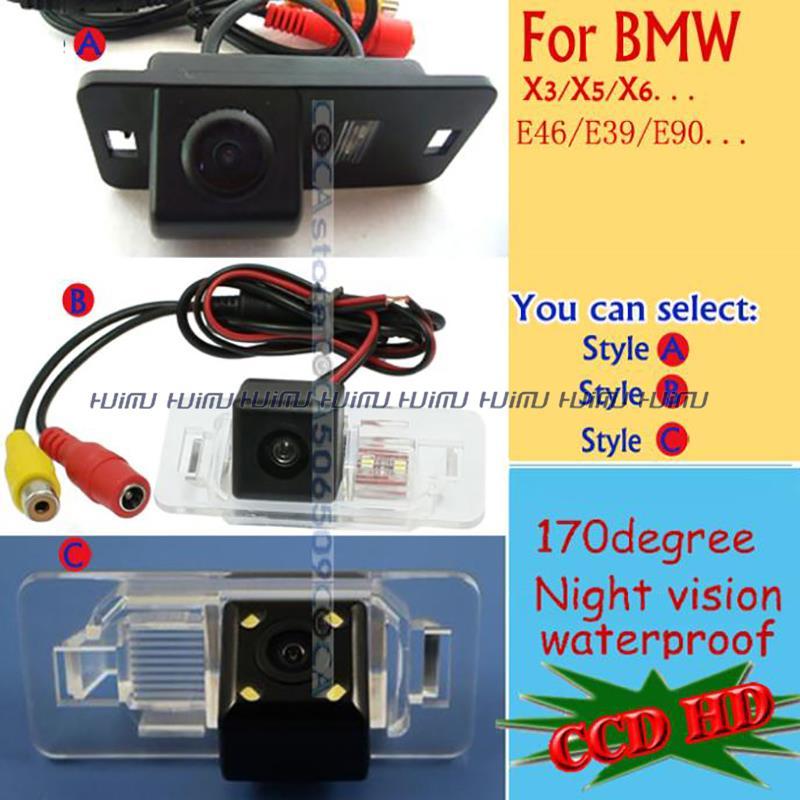CCD HD wireless Car Rear Camera for BMW E46 330d 323ci 320cd M3 E90 E91 E92 E60 E61 E62 E63 E64 E70 E71 E39 parking assist(China (Mainland))