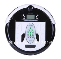2pcs/Home Robot Vacuum Cleaner + 1L Larger Rubblish Box+UV lights
