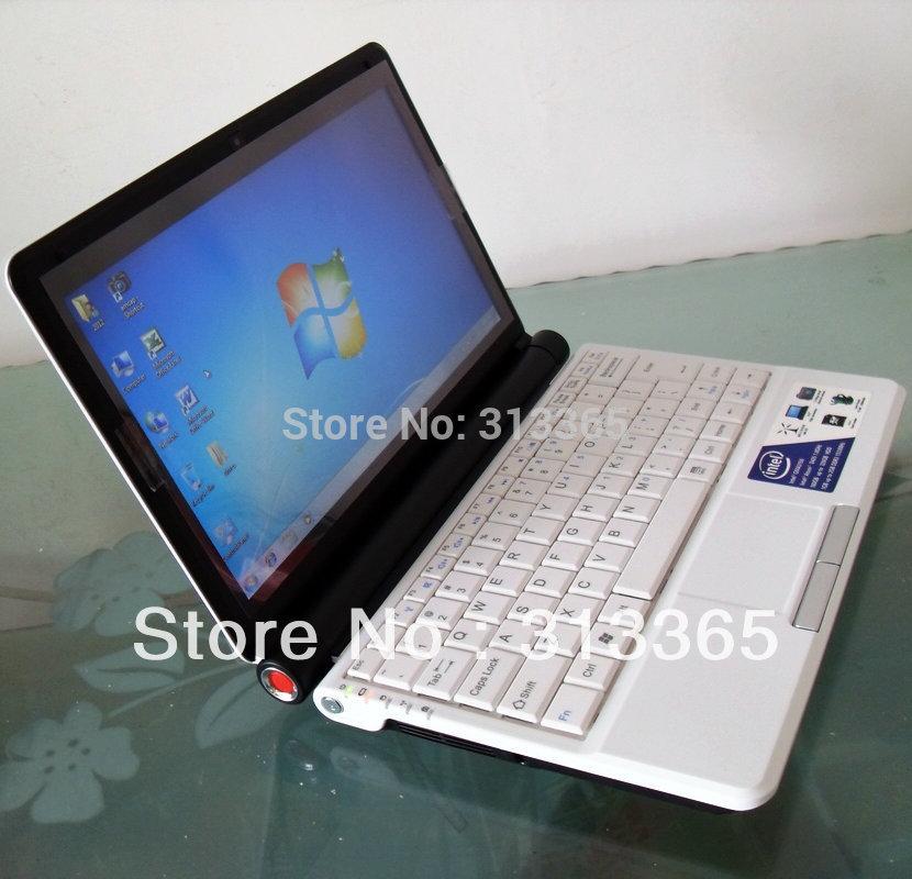 "10"" Mini Laptop Intel D2500 1.86Ghz 1G RAM 160G HDD Wifi Camera UMPC Free Shipping(China (Mainland))"