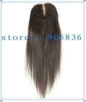 "Swiss lace straight brazilian virgin hair closures  4""*4"""
