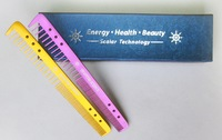 Blue color box Scalar combs, anions energy combs