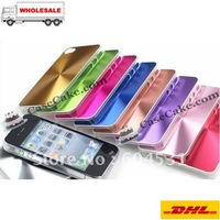 Aluminum Cases  Mobile phone cases for Apple iPhone 4G +DHL Free Shipping!
