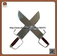 Wushu weapon-Double Butterfly Swords-spring steel