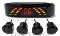 Guaranteed 100% Reverse Sensor Parking Radar New LED Display Car Parking Sensor System with 4 Sensors + 2011 Best Selling