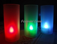 Chrismas decoration 12+12 pcs candle&Holder Hot sell FREE SHIPPING on-off BLUE Tea Light LED  Lamp Wedding Decor