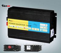 1500W Pure Sine Wave Power Inverter with CE, ROHS approved(3kw peak power) 12V or 24V or 48V input 110V/220V output selectable
