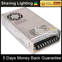 [Sharing Lighting]350W 12V switching power supplies manufacture,Power adapter with AC110-240V input+Free shipping
