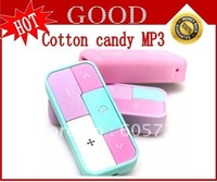 New 2GB/4GB  Cotton Candy mini  mp3 Free shipping