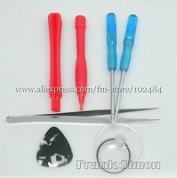 Wholesale 5pcs/lot 7 in 1 Opening tool kits for iphone 4G phone tools Drop Shipping