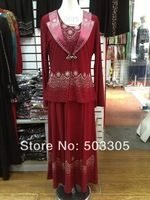MS052301 2012 free shipping lastest style high quality arab clothes with skirt