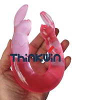 Free shipping rabbit shape adult products sex toys