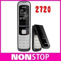 full set 2720 Unlocked Original Nokia 2720 cell phone wholesale in stock one year warranty