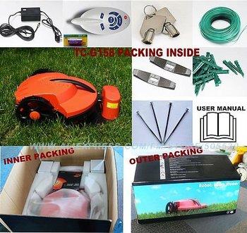 New arrival Intelligent lawn mower auto grass cutter, Lead-acid battery, auto recharge, robot grass cutter garden tool mower