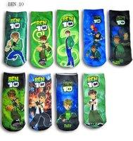 free shipping cartoon design socks baby socks children socks Ben cartoon design