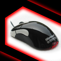 New Arrival Black-White Steelsereis Edition Microsoft Intellimouse Optical 1.1   5 Button Mouse,Brand New, Fast&Free Shipping