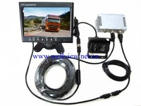 7inch lcd car monitor CCD reverse camera Truck Rear View Camera System,DC12V-24V Compatible