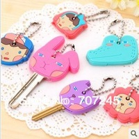 Free ship!40pc! Cute cartoon style keychain/ Key portable sets/key chains