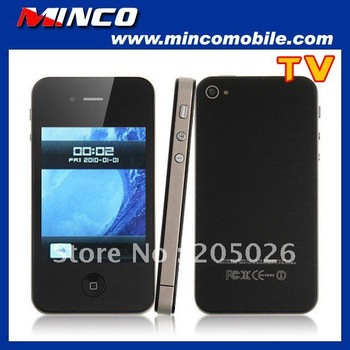 """Free Shipping 3.2"""" Touch Screen Unlocked GSM Quad Band Dual SIM I9 4G F8 TV Phone - Low Price Sale"""