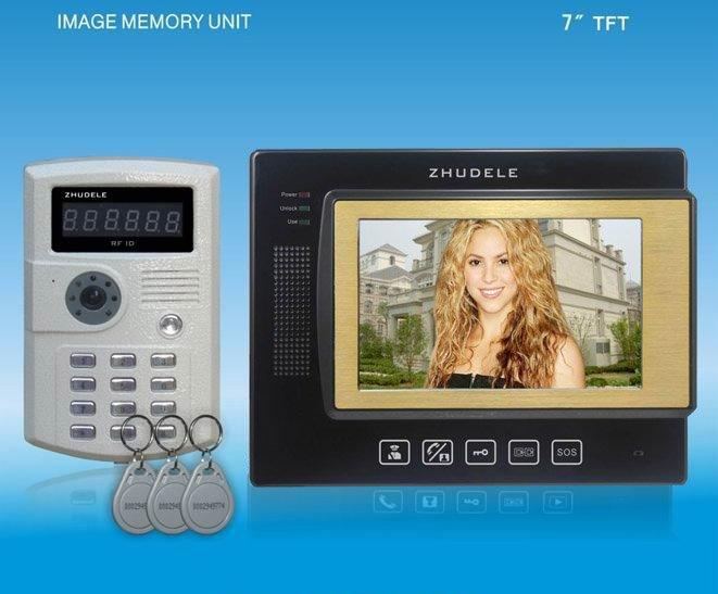 Видеодомофон OEM 7  , id , ccd, ZDL-2700B+229