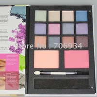 12sets/lot Pro 12 color Pearl Eyeshadow&Blush Palette Eye Shadow Makeup Eyeshadow suite  B601D