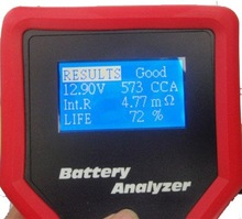 battery analyser promotion