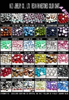 #17-#32 ss20 5mm  30000pcs Resin rhinestone flatback Free shipping in 24 hours