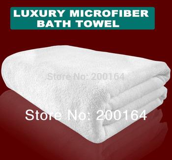 New 2014-1PC 70*140cm White towel Microfiber Bath Towel Beach towels magic towels Spa&Sauna Swimming cloth MMY Brand