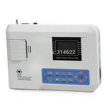 Portable Digital 1-channel Electrocardiograph ECG Machine EKG Machine #5345 S