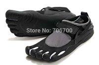 Wholesale /Retail Hot!  Men toe shoes magic button shoes five fingers outdoor climbing sports shoes SIZE:UE7-11#  Free shipping