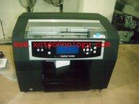 A4 t-shirt textile printer,flatbed printer, golf printer
