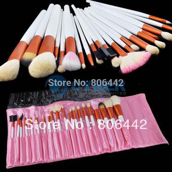 20Pcs Eyeshadow Cosmetic Makeup Brush set Kit + Case 36
