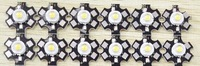 3W High Power Led Red Green Yellow  White WarmWhite With star sink board 10 pcs/lot