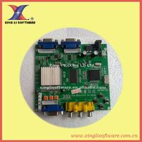 3 pcs of CGA/EGA/YUV TO VGA CONVERTER, dual vga output, output high resolution signal,for LCD monitor