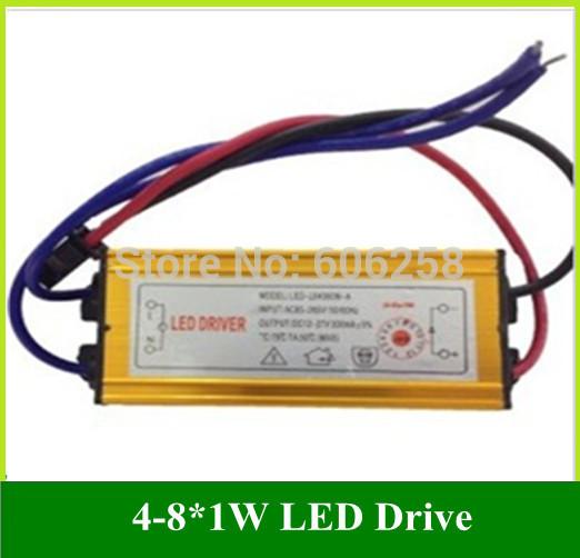 Трансформатор освещения LED drive power 20 4W 5W 7W 8W /led /4/8 * 1W