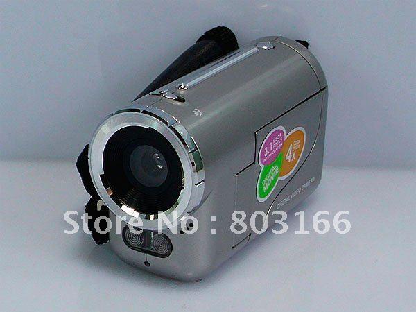 Best gifts Mini DV Kids Camcorder 1.5 inch 3.1 MP(Max) 4X Zoom DV136(China (Mainland))