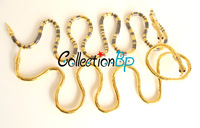 Great Discounts!  10 Colors Snake Styles Bendable  DIY Necklace 900*6mm  FREE SHIPPING No Minimum Order