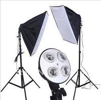 "4 Socket Lamp Softbox for Digital Photo with 24""x24""/60cm x 60cm"