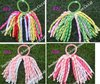 free shipping 72pcs korker ponytail holders streamer to mix  color  corker pony streamer colorful