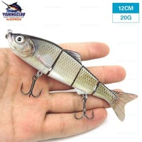 mixed wholesale fishing hard bait with 2 hooks fishing lures 120mm/20g fishing tackle tools gear HX03