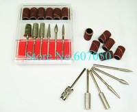 Nail Drill Bits Set,Nail Sanding Bands,Manicure Drill Bits Set,Sanding Drum,Electric Drill Bits,Nail Electric File-Free Shipping