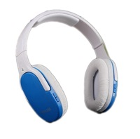Free Shipping Wireless Headset style MP3 player,5in1 function Wireless Headphone MP3 player, TF card Sports mp3 player