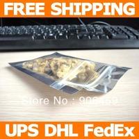 Free shipping,3''x4''(7.7x10.2cm) Transparent & Metallized zip lock bag